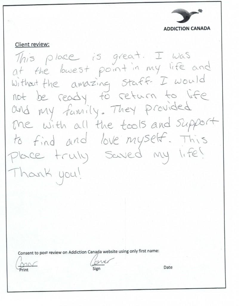 Client Testimonial 1